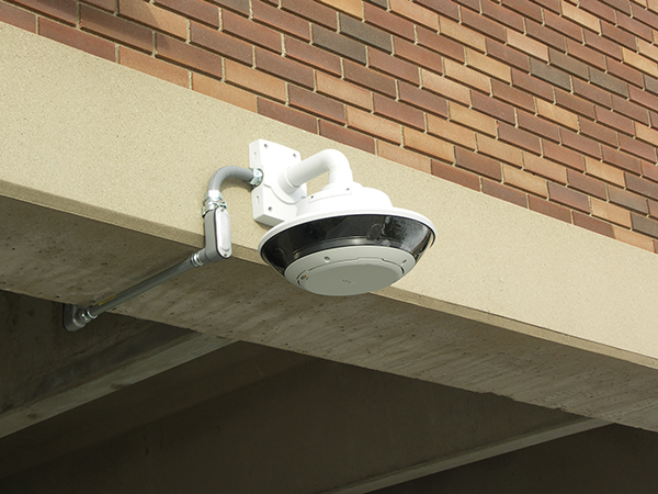 Outdoor security surveillance camera.