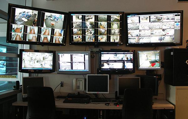 Security surveillance monitoring.
